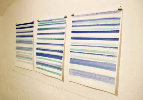 Linea in Andamento - Sue Carlson exhibition